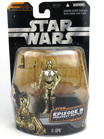 "The Saga Collection Greatest Battles 3.75"" - C-3PO Protocol Droid"