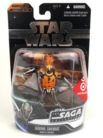 "The Saga Collection 3.75"" - Demise of General Grievous - Target Exclusive"