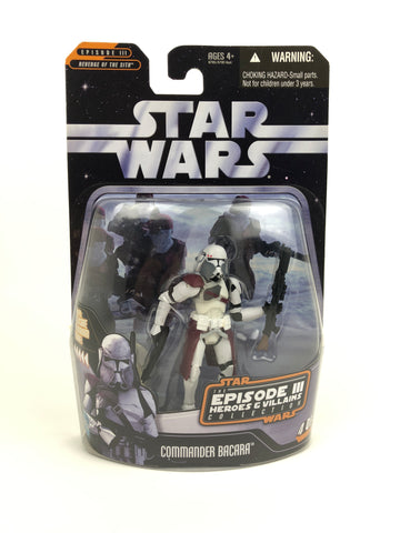"The Saga Collection Heroes & Villains 3.75"" - Clone Trooper Commander Bacara"