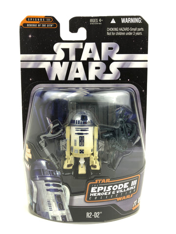 "The Saga Collection Heroes & Villains 3.75"" - R2-D2 Astromech Droid"