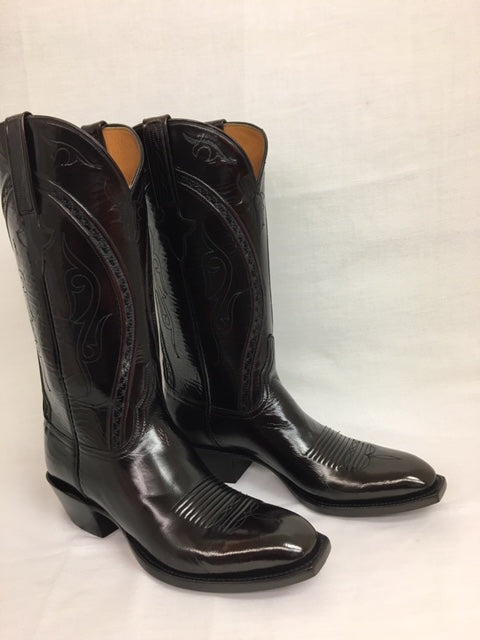 Lucchese - L1509.14 Black Cherry Goat