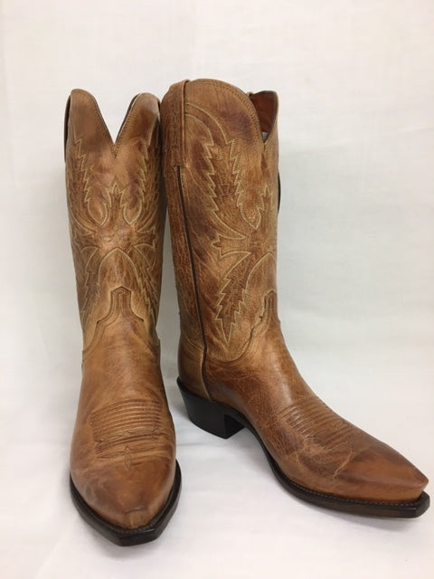 Lucchese - N1547 Tan Burnished Mad Dog Goat