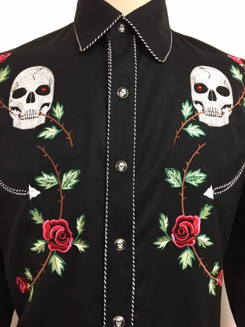 Scully - P-771B Skulls and Roses