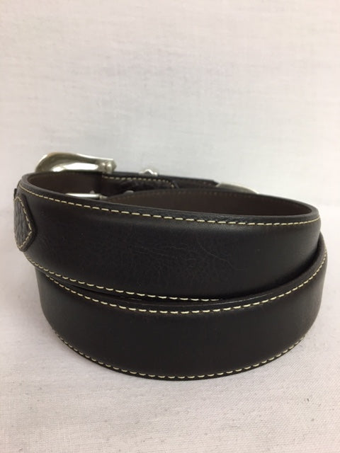 Lejon Belt - 6242 Pickett – Chocolate/Brown