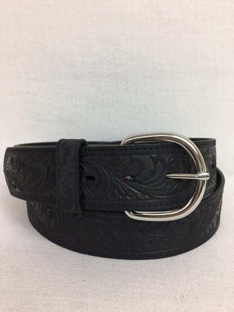 Bootmaster Belt - 53903 Western Scroll Black