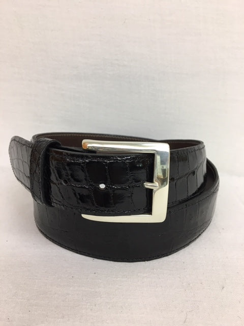 Chacon - 301B Black Alligator