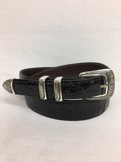 Chacon - 501BF Black Alligator