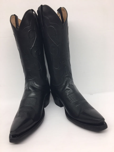 Lucchese - GC9870.54 Black Buffalo Calf
