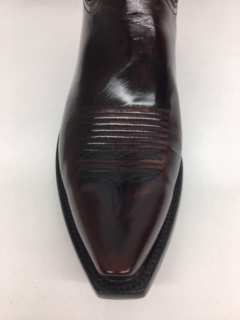 Lucchese - L1509.53 Black Cherry Goat