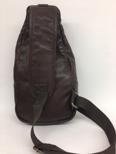 Scully - #929 Chocolate Brown Leather Sling