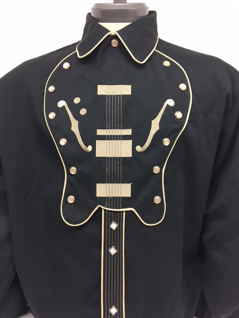 Scully - P-909 Guitar Bib Shirt