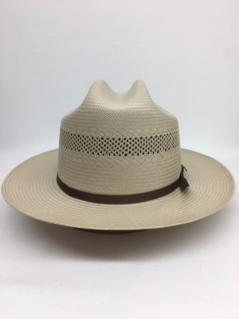 Stetson - Open Road Straw Vented Toast