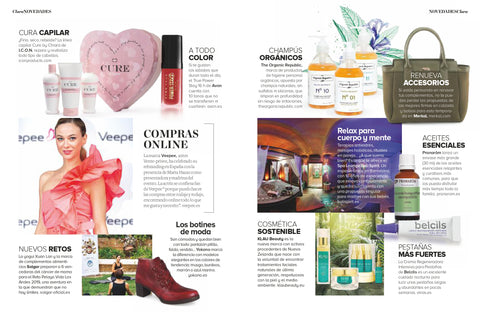 Revista Clara novedades marcas The Organic Republic