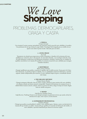 We love shopping - Revista Tocado y The Organic Republic