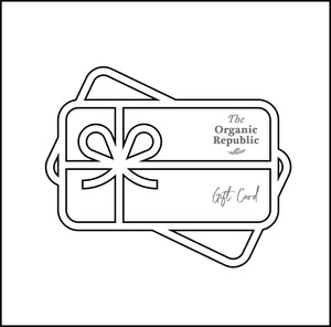 Tarjeta de regalo - The Organic Republic