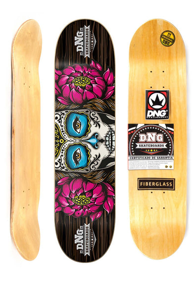 "Shape Street Profissional DNG 8"" - LADY SKULL"