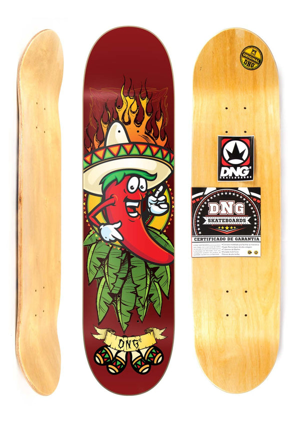 "Shape Street Profissional DNG 8"" - HOT SPICE"