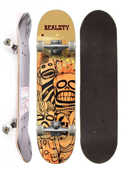 Reality Skateboard Semi-profissional - Monsters
