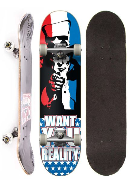 Skate Completo Semi Profissional Reality - YOU