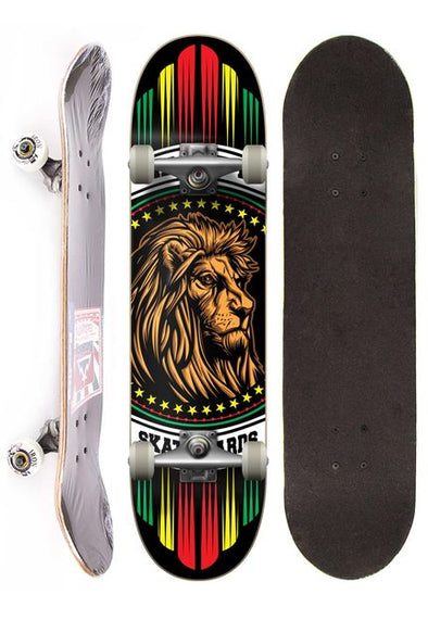 Reality Skateboard Semi-profissional completo street - Lions