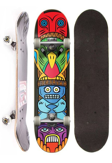 Reality Skateboard Semi-profissional completo street - Totem