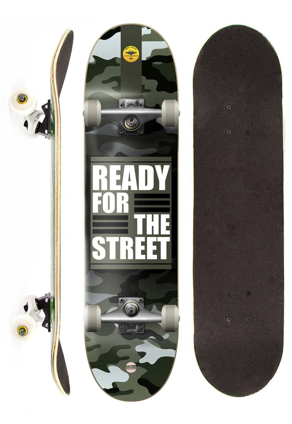 Iron Shape Skate Completo Iron Profissional Ready for the Street 7,5""