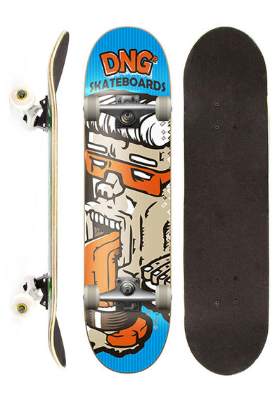 DNG Skateboards Skate Completo DNG Profissional Bleh Street 7,5""