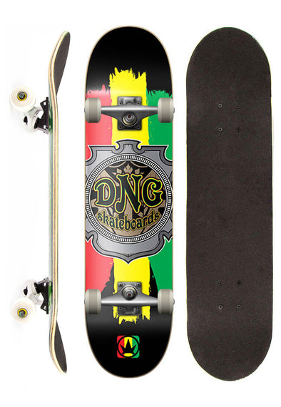 DNG Skateboards Skate Completo DNG Profissional Jamaica Street 7.5""