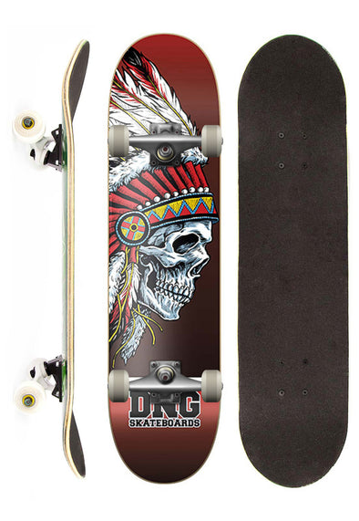 DNG Skateboards Skate Completo DNG Profissional Moicano street 7,5""