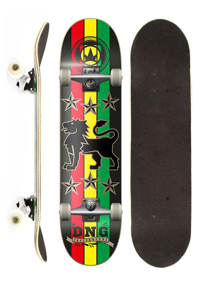 DNG Skateboards Skate Completo DNG Profissional Lion Star Street 7,5""