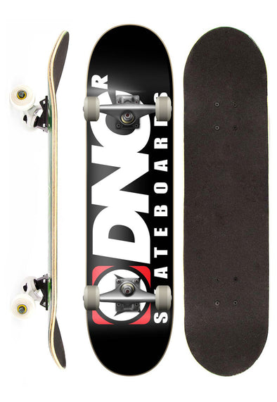 DNG Skateboards Skate Completo DNG Profissional The DNG street preto 7,5""