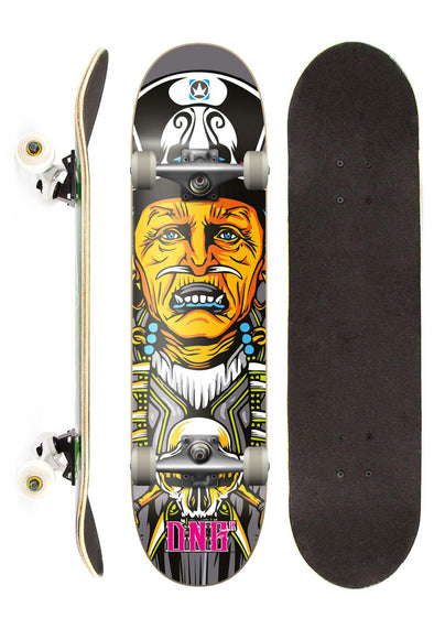 DNG Skateboards Skate Completo DNG Profissional Canibal street 7,5""