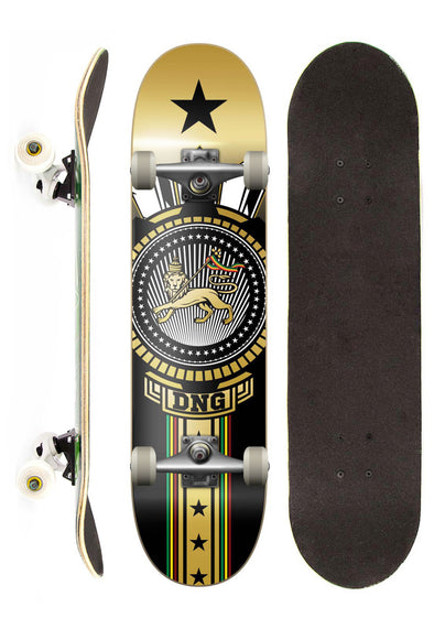 Dng Skateboards Skate Completo DNG Profissional Lion Street 7,5""
