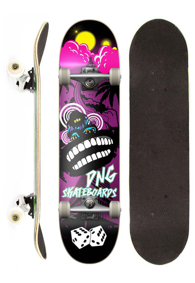DNG Skateboards Skate Completo DNG Profissional Punk Street 7.5""