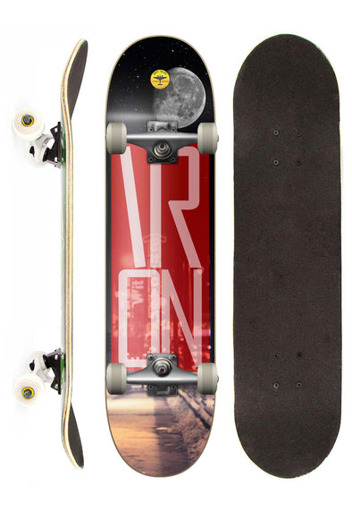 Iron Shape Skate Completo Iron Profissional City street 7,5""