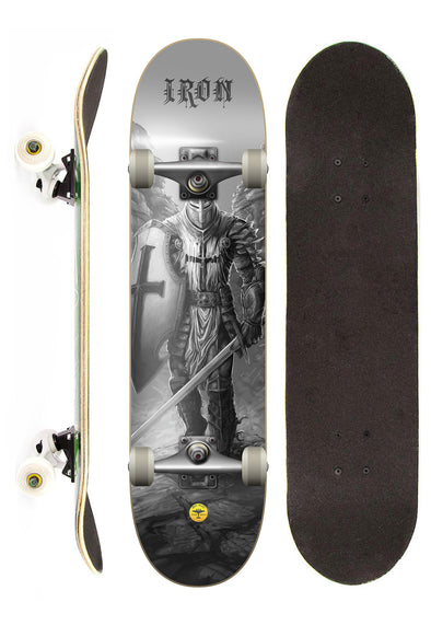 Iron Shape Skate Completo Iron Profissional Knight street