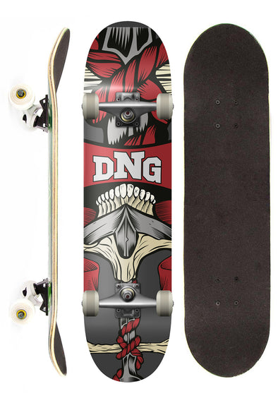 DNG Skateboards Skate Completo DNG Profissional Death Street 7,5""