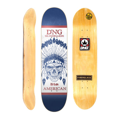 Shape street DNG Skateboards Pro Fibra - Native American