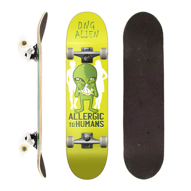 DNG Skateboards Completo Profissional Allergic to Humans