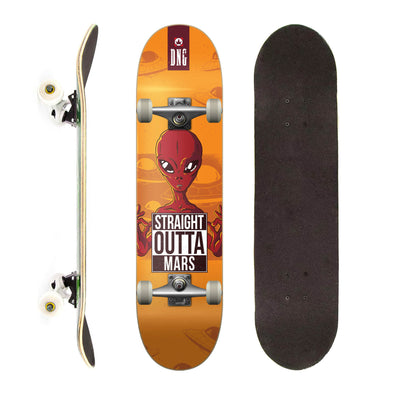 DNG Skateboards Completo Profissional Straight Outta Mars