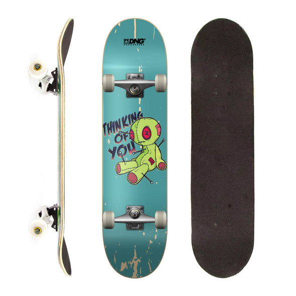 DNG Skateboards Completo Profissional Voodoo Doll