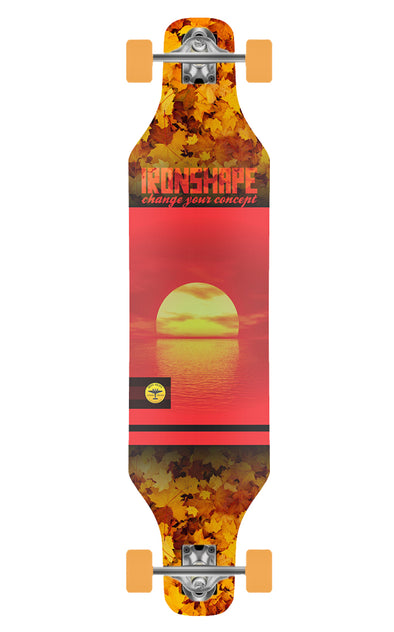 Longboard Slide Reto Iron Sunset
