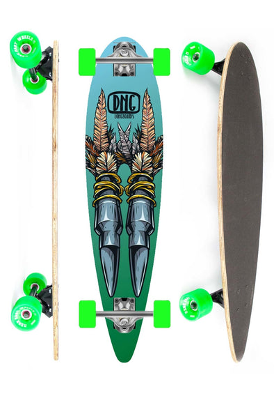 DNG SKATEBOARDS LONGBOARD WAIPAHU BLITH DNG VERDE