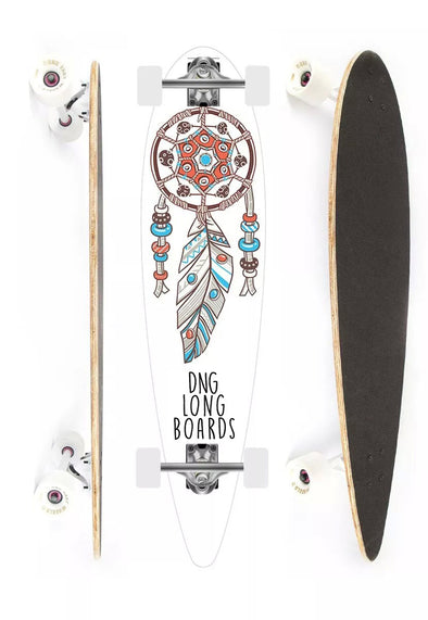 DNG SKATEBOARDS LONGBOARD MAKAHA DREAM BRANCO
