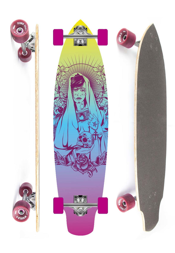 DNG SKATEBOARDS LONGBOARD SHARK SAINT DNG SKATEBOARDS