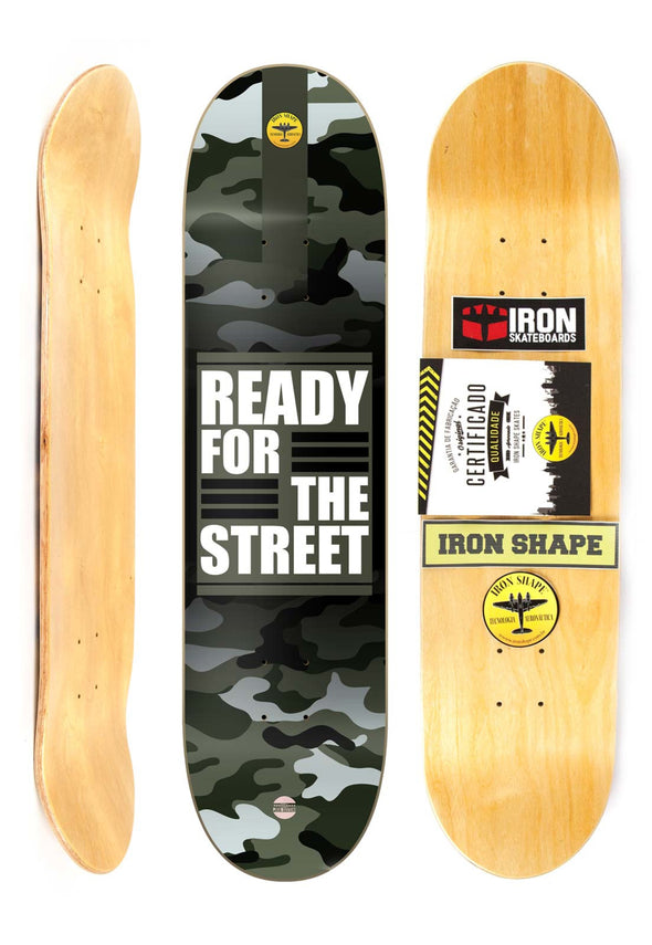 "Shape PRO MARFIM Iron Shape 8"" - READY FOR THE STREET"