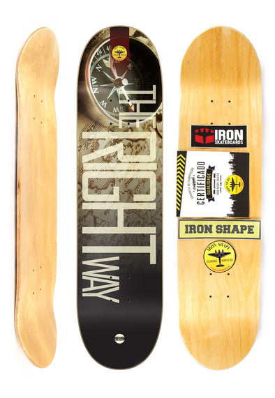 "Shape PRO MARFIM Iron Shape 8"" - THE RIGH WAY"