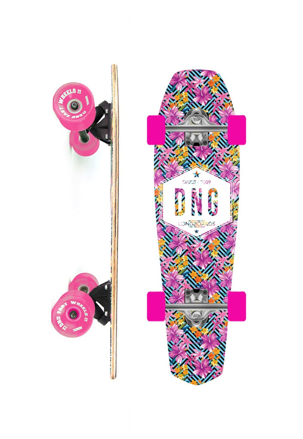 DNG SKATEBOARDS CRUISER COFFIN DNG SINCE MULTICOLORIDO