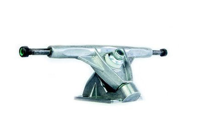 TRUCKS LONG IRON SHAPE TAMBOREADO 180MM CINZA