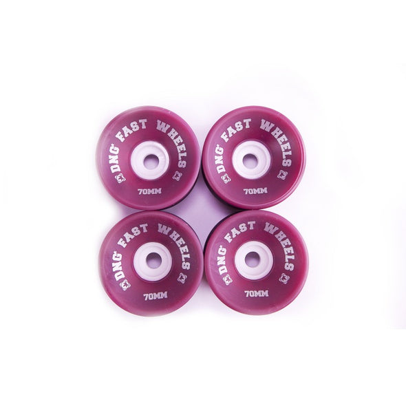 Roda Dng Long Fst 70mm - Roxo